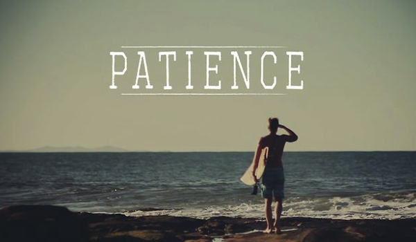 Patience - Finding Balance Between Spiritual and Material